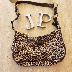 Guess Leopard print purse